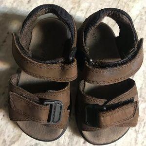 Toddler boy stride rite leather summer sandals 5 m